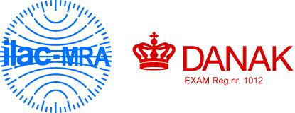 ILAC DANAK logo